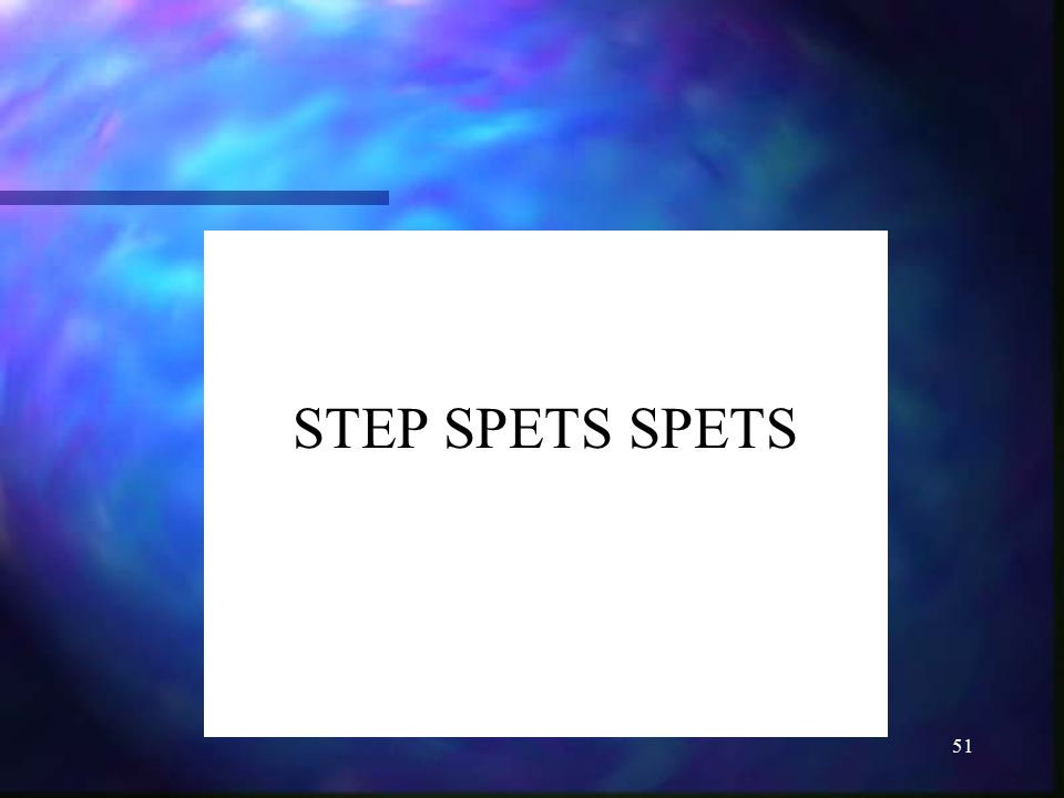 STEP SPETS SPETS
