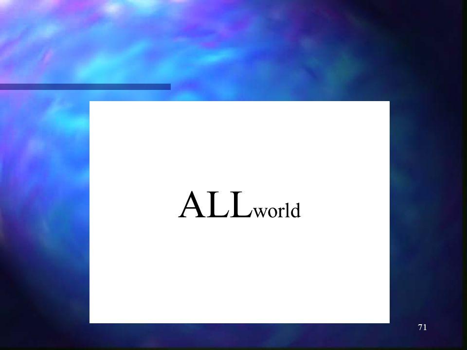 ALLworld