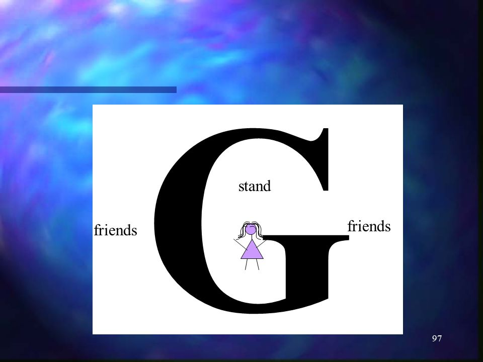 G stand friends friends