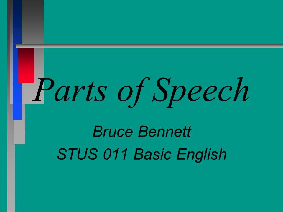 Bruce Bennett STUS 011 Basic English