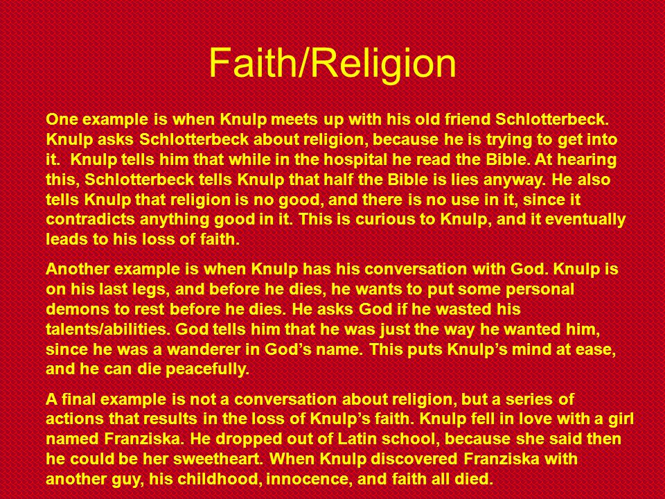 Faith/Religion