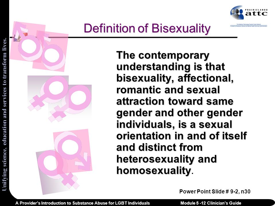 Myths About Bisexuals Bisexuals are confused about their sexual orientation.