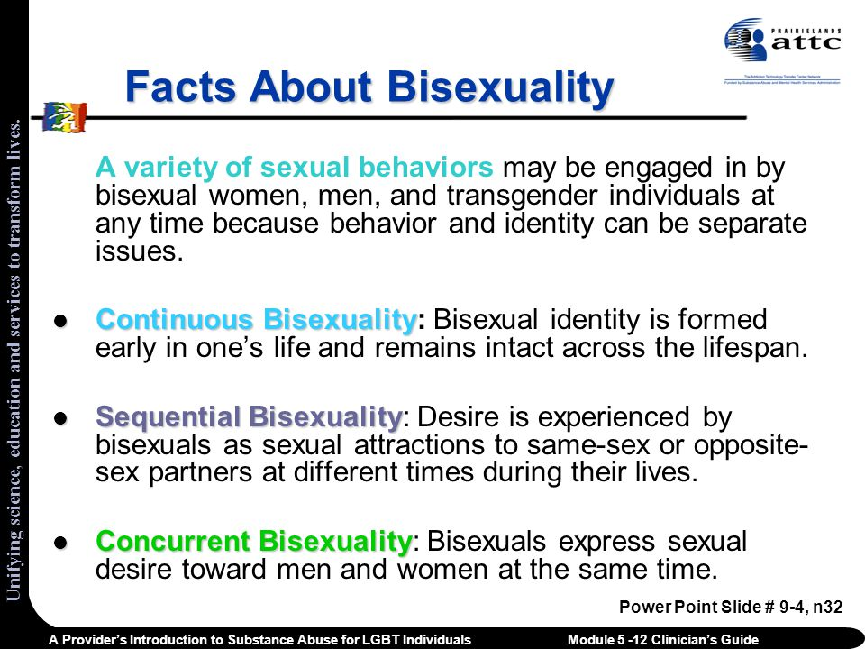 Facts About Bisexuality