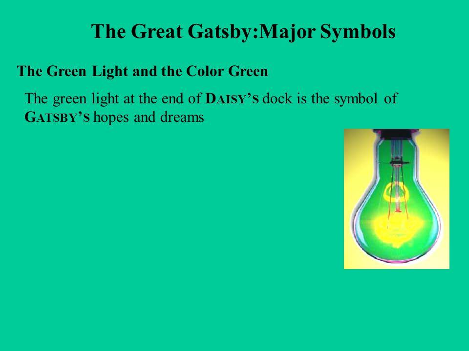 The Great Gatsby:Major Symbols