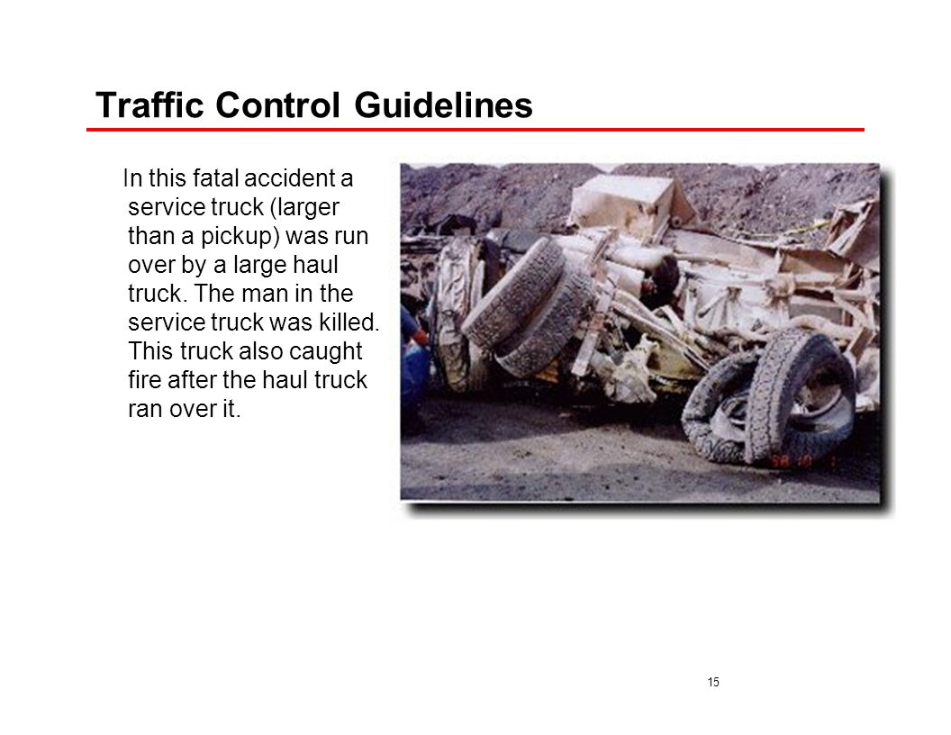 Traffic Control Guidelines