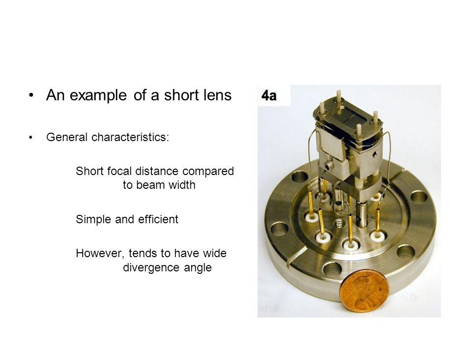 An example of a short lens