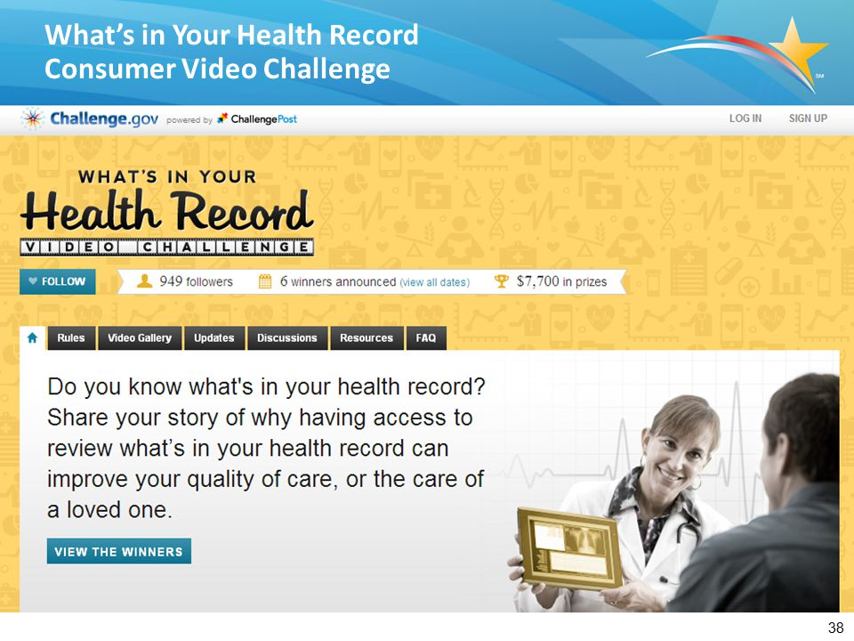 What's in Your Health Record Winner