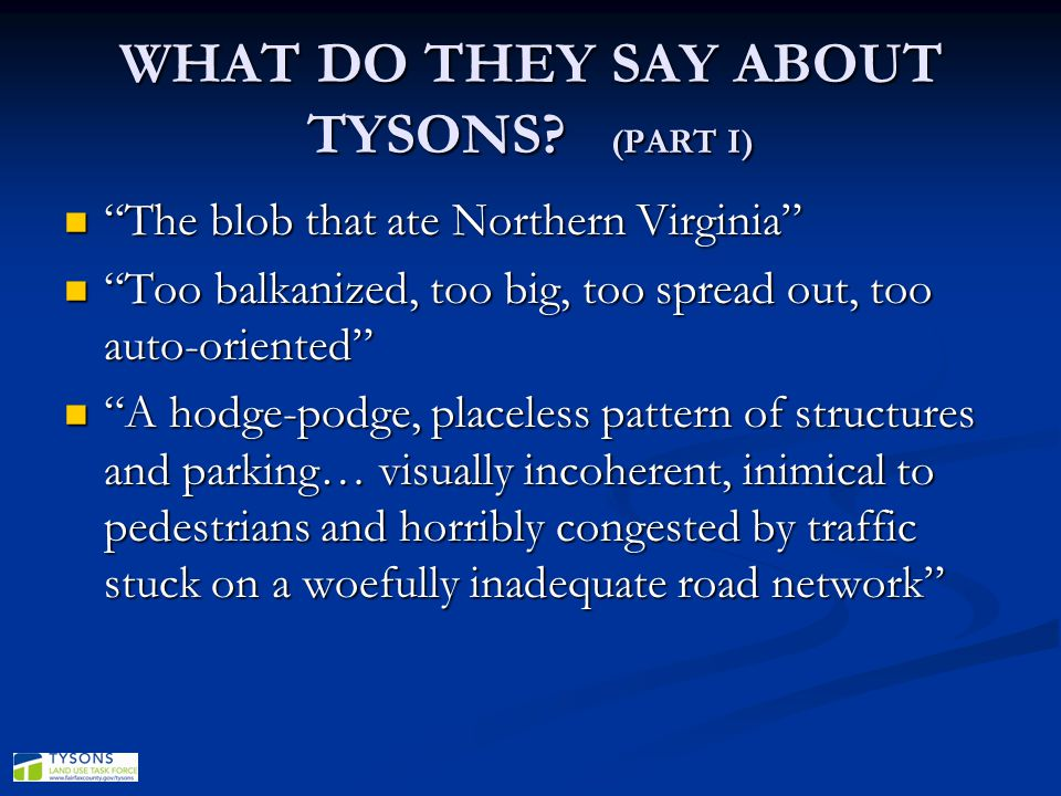 WHAT DO THEY SAY ABOUT TYSONS (PART I)