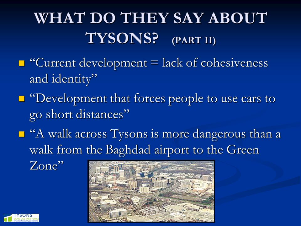 WHAT DO THEY SAY ABOUT TYSONS (PART II)