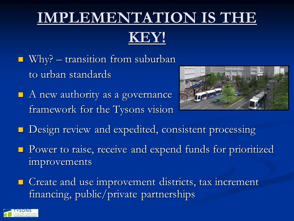 IMPLEMENTATION IS THE KEY!