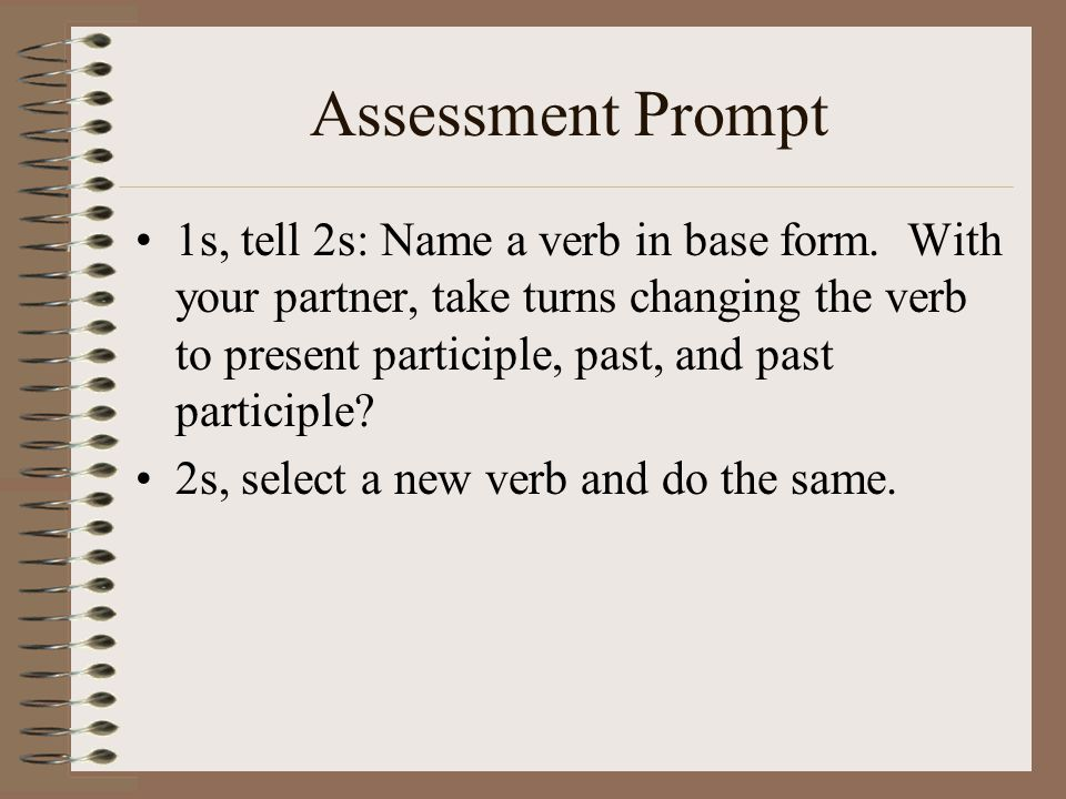 Assessment Prompt