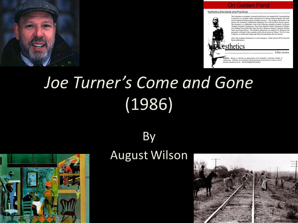 Joe Turner's Come and Gone (1986)