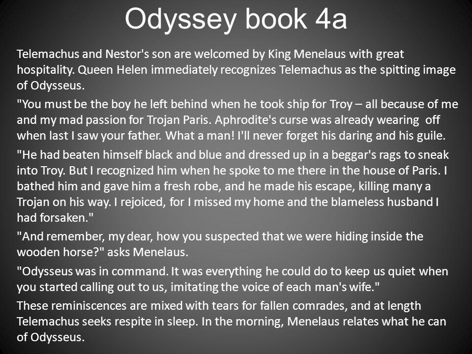 Odyssey book 4a