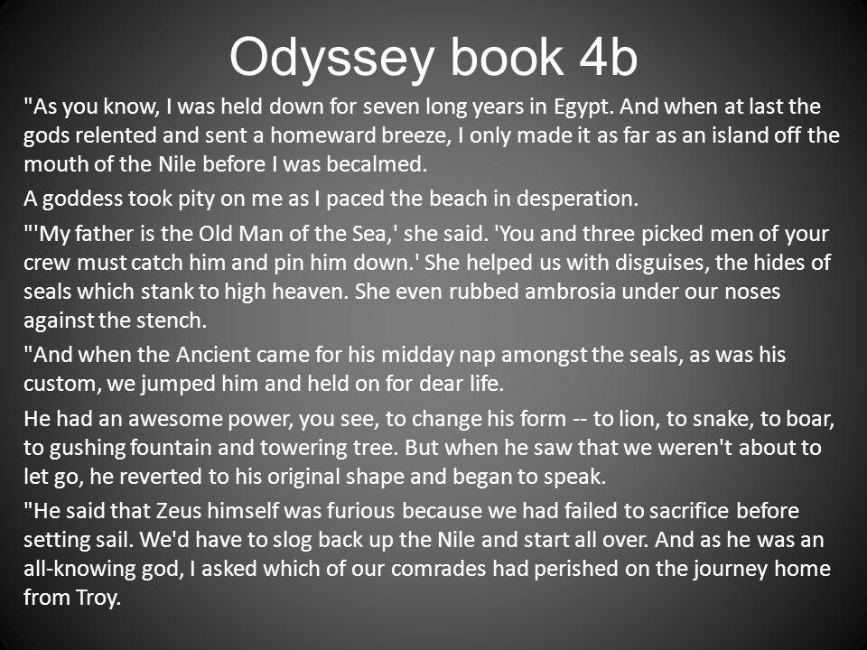 Odyssey book 4b