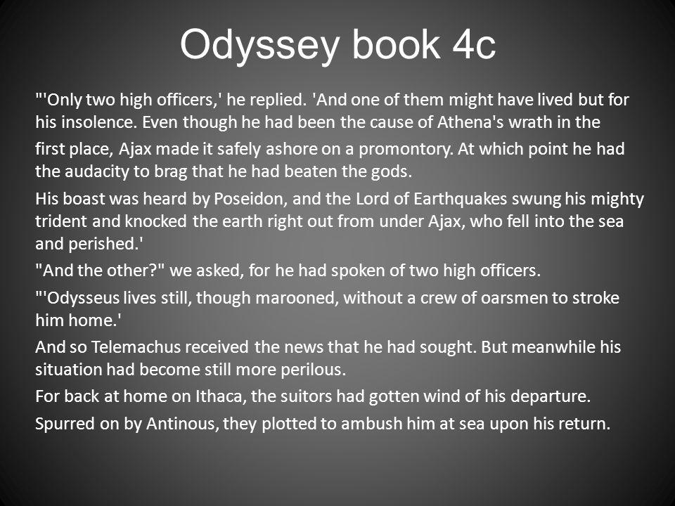 Odyssey book 4c