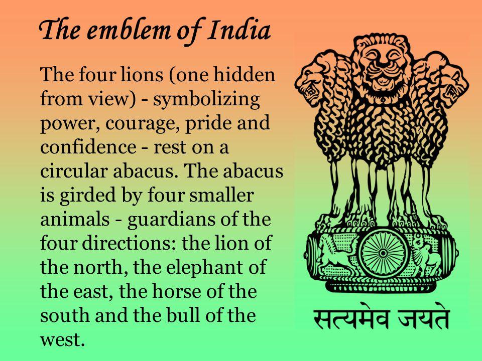 The emblem of India