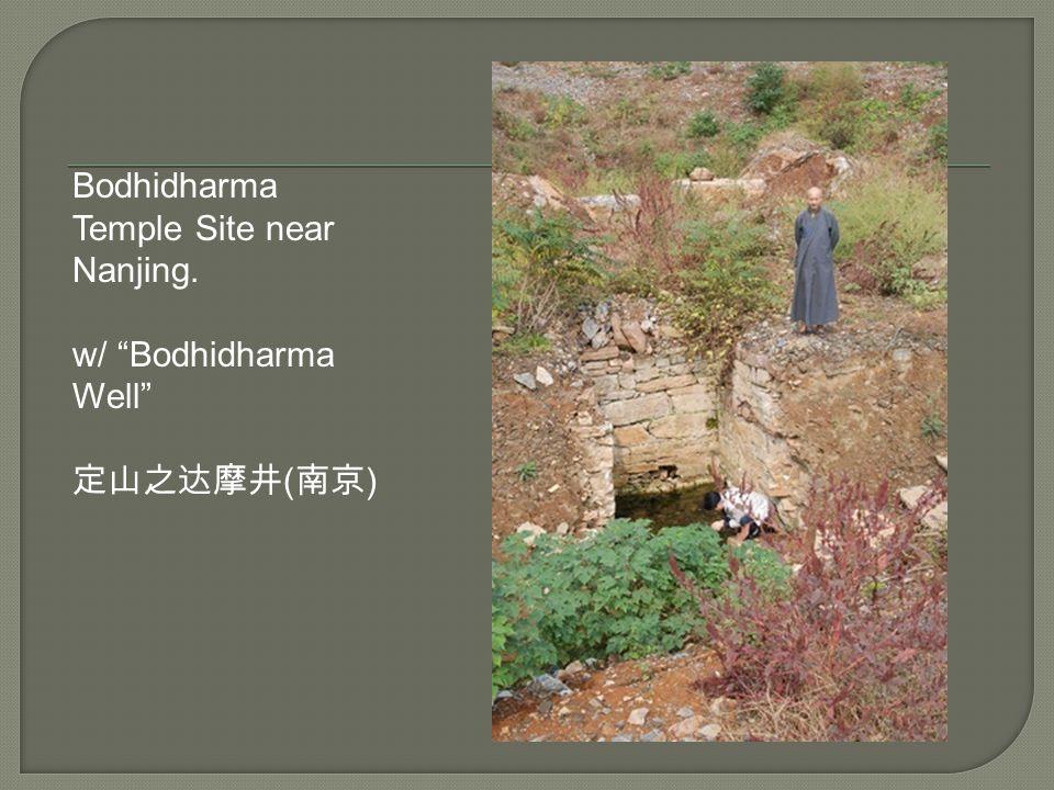 Bodhidharma Temple Site near Nanjing.