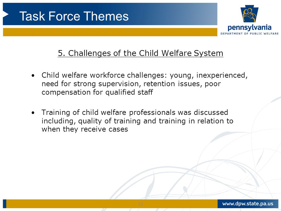 5. Challenges of the Child Welfare System