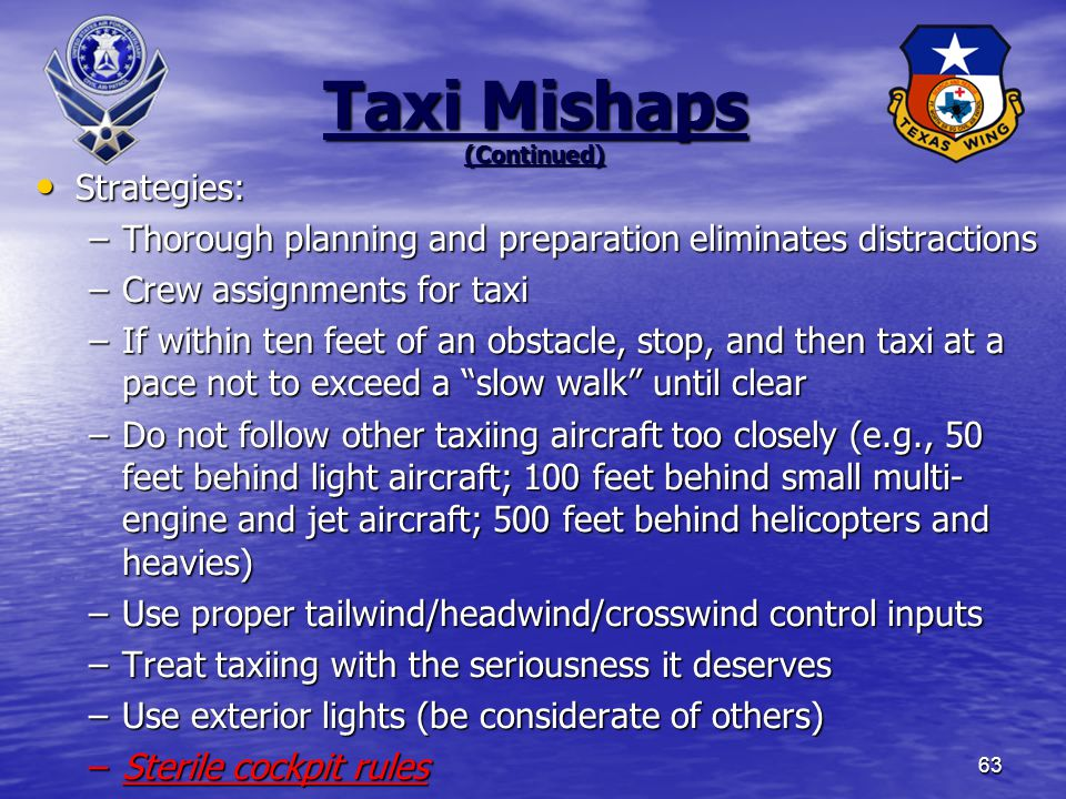 Taxi Mishaps (Continued)