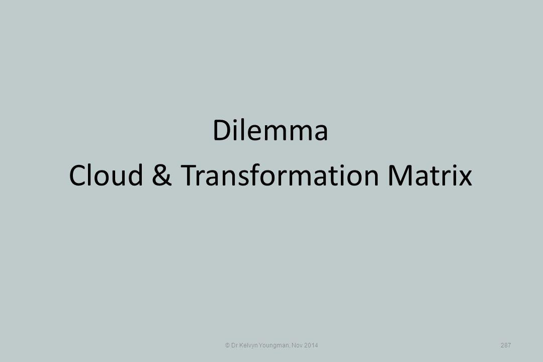 Cloud & Transformation Matrix