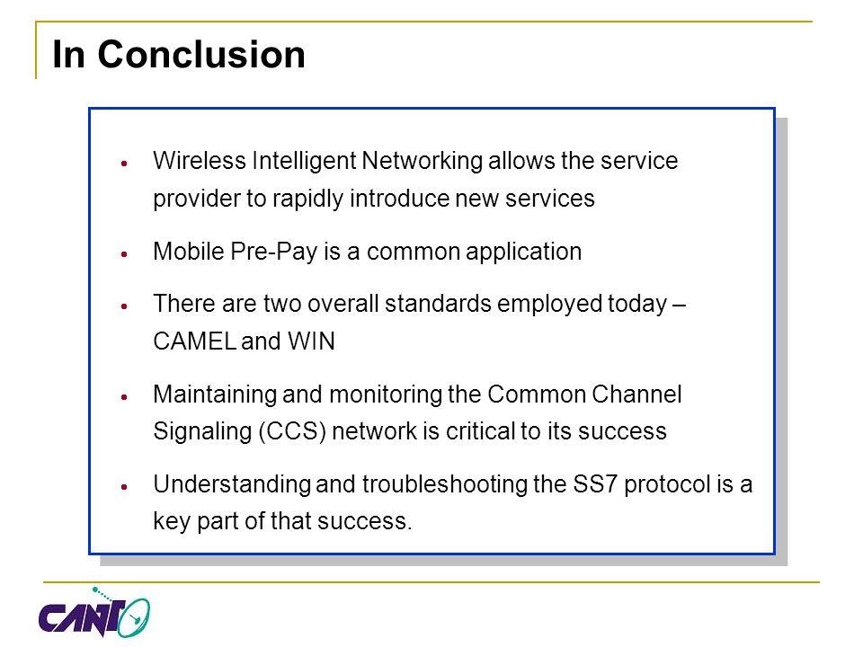 Wireless Intelligent Networking