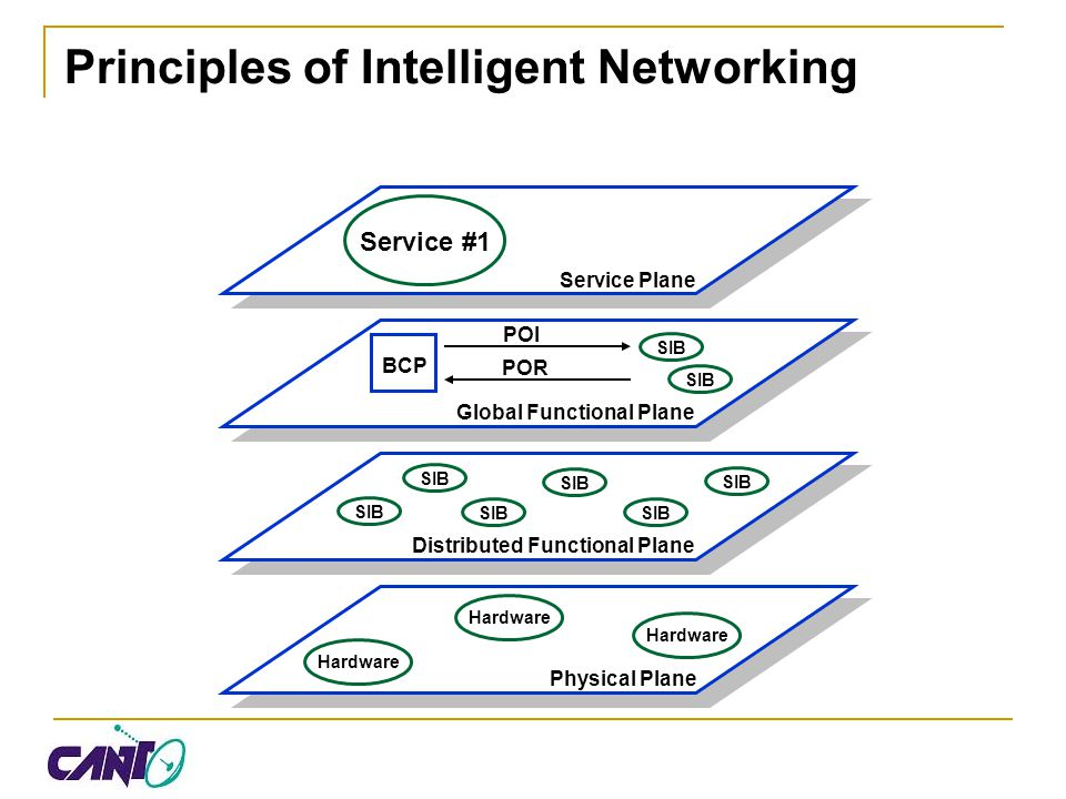 Principles of Intelligent Networking
