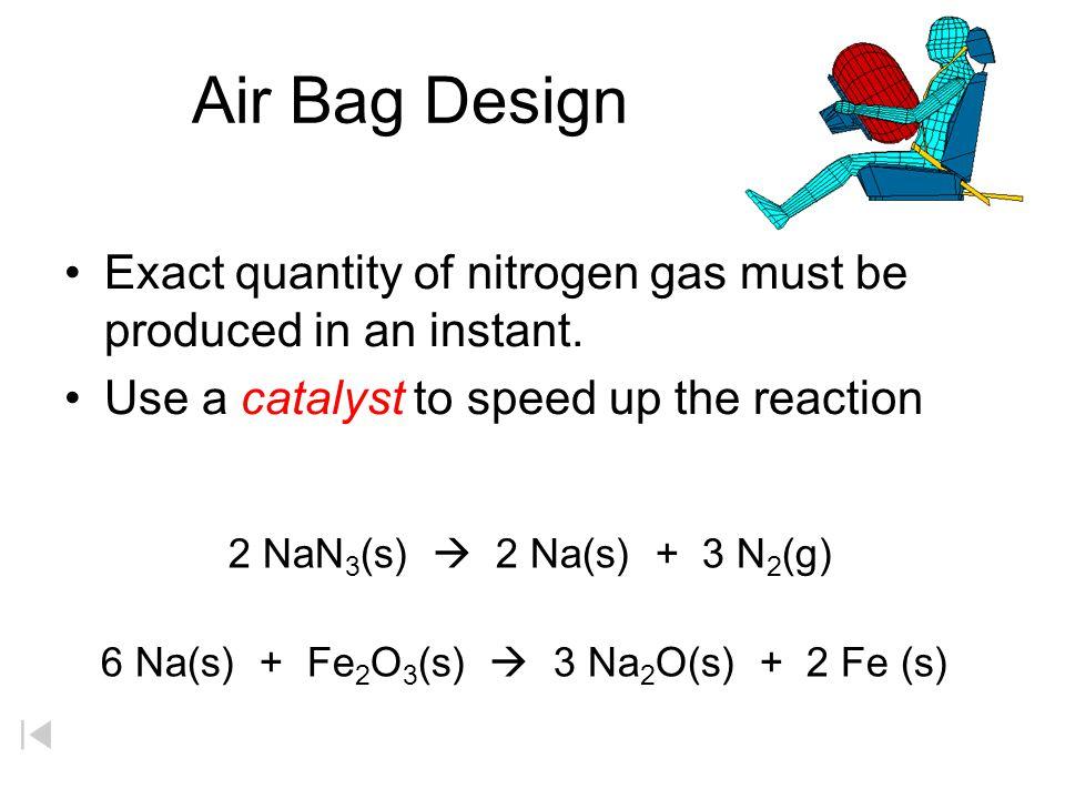 6 Na(s) + Fe2O3(s)  3 Na2O(s) + 2 Fe (s)