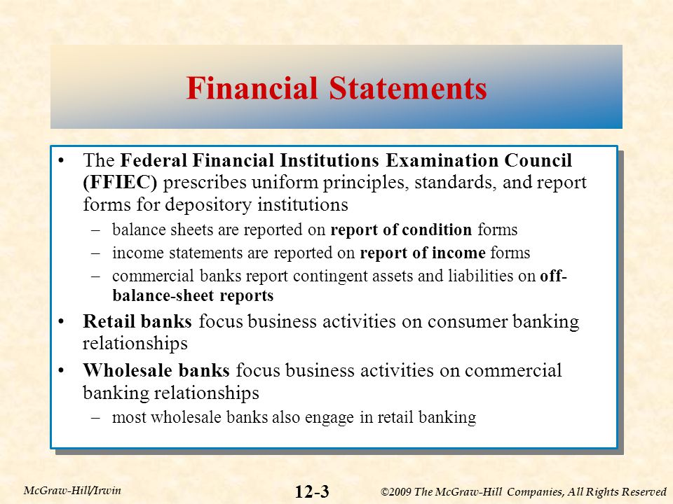 commercial banks financial statements and analysis