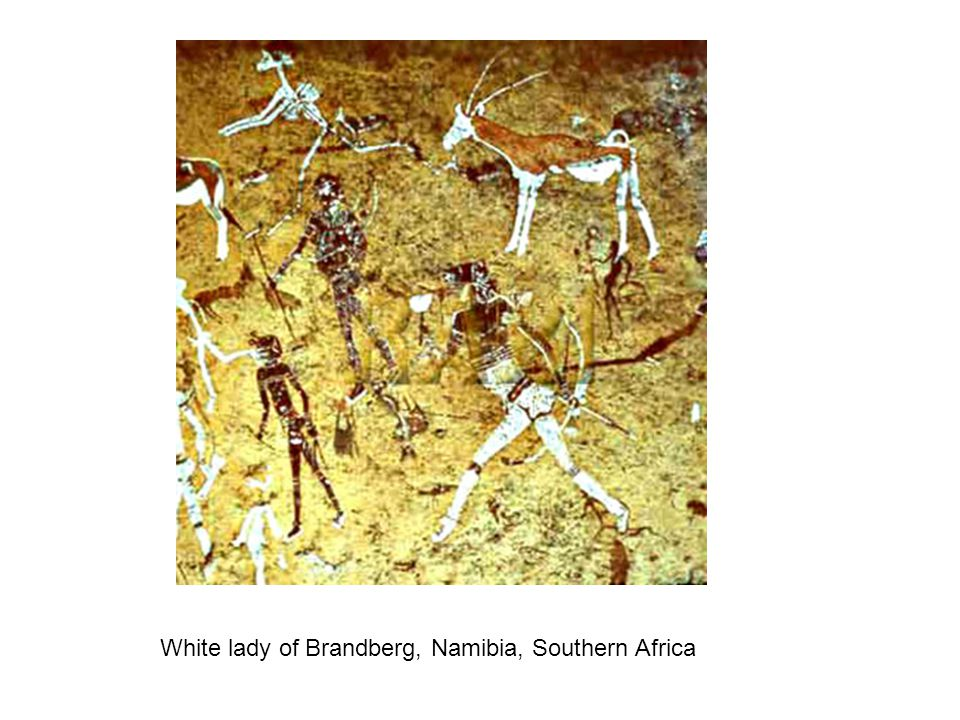 White lady of Brandberg, Namibia, Southern Africa