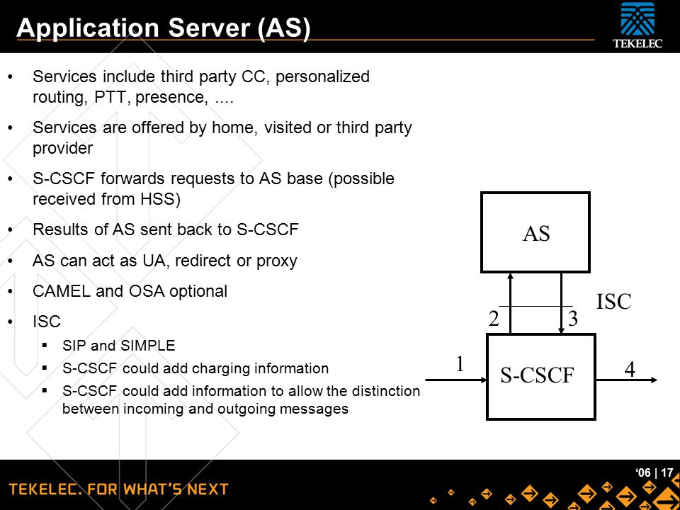 Application Server (AS)