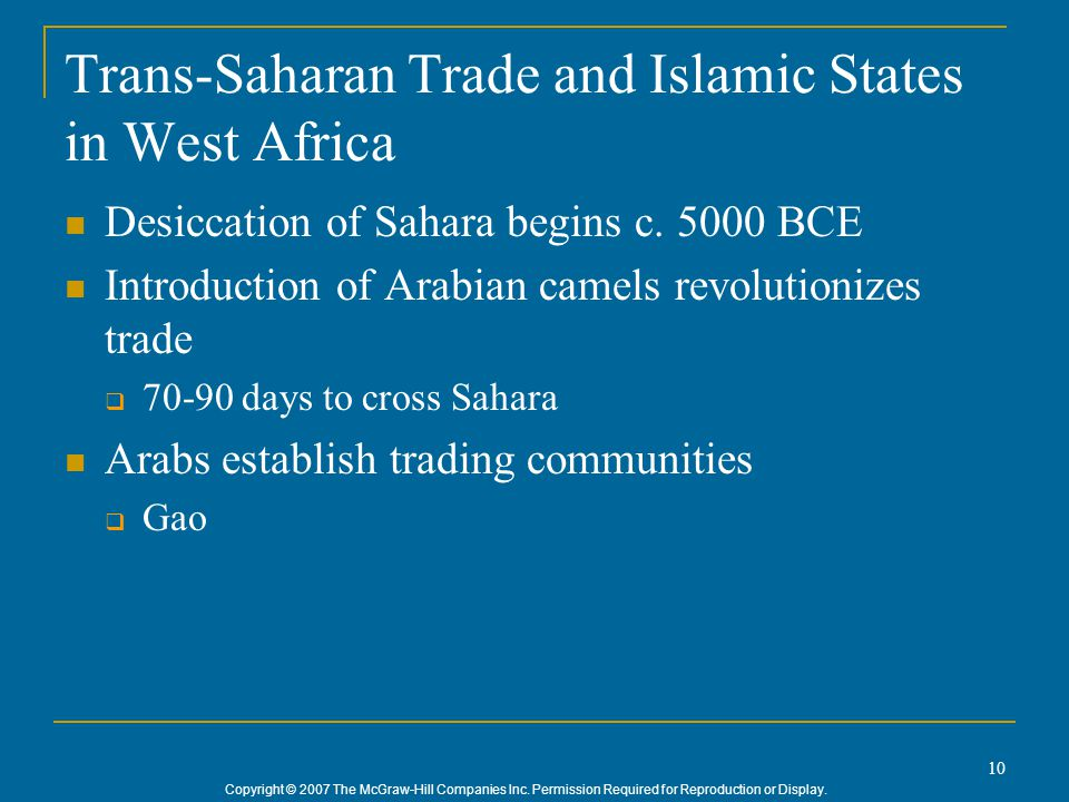 influence of trans saharan trade on west Visionaryfoundation advocacy, policy analyst, youth development social and economic impact of the trans-saharan trade in africa north and south of the sahara.