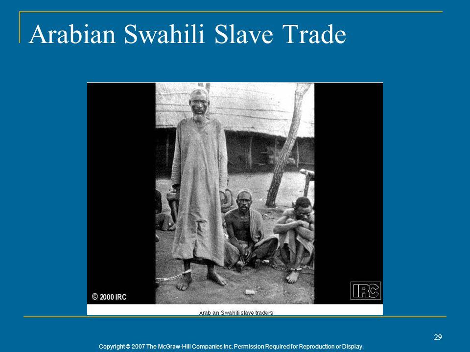 Arabian Swahili Slave Trade