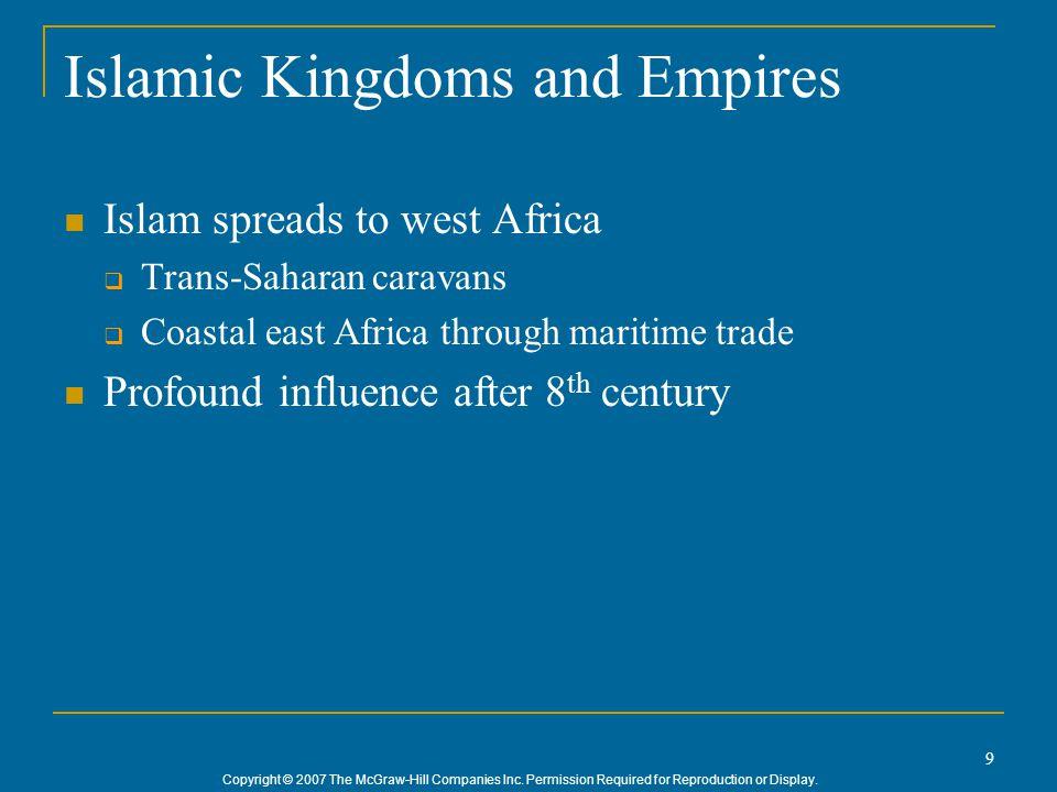 Islamic Kingdoms and Empires