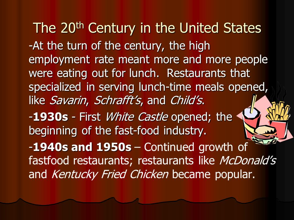 The 20th Century in the United States