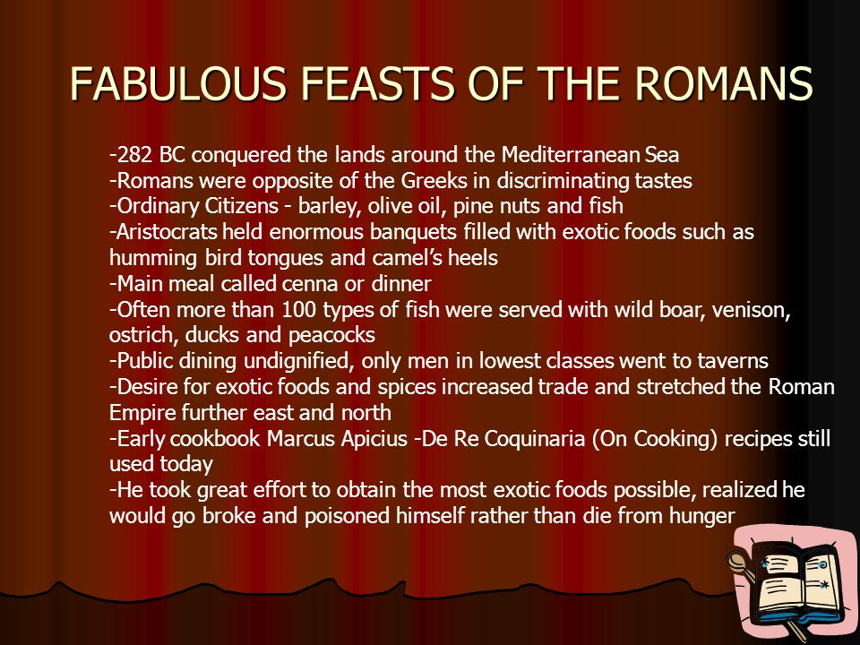 FABULOUS FEASTS OF THE ROMANS
