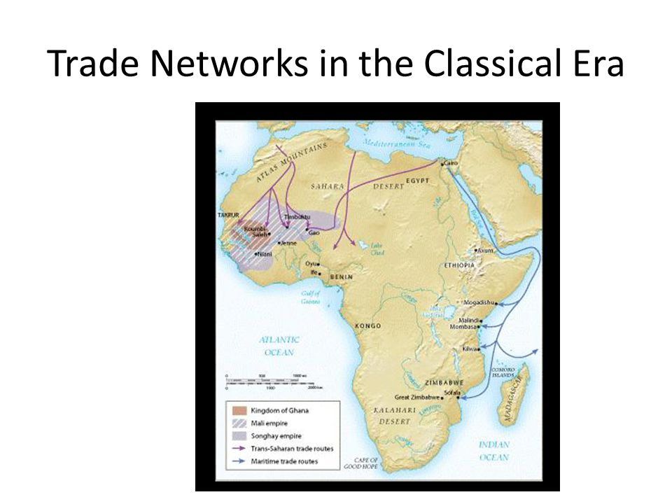 Trade Networks in the Classical Era