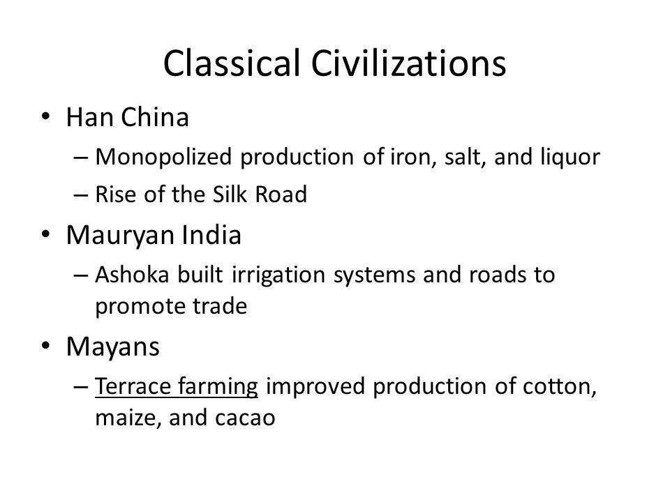 Classical Civilizations