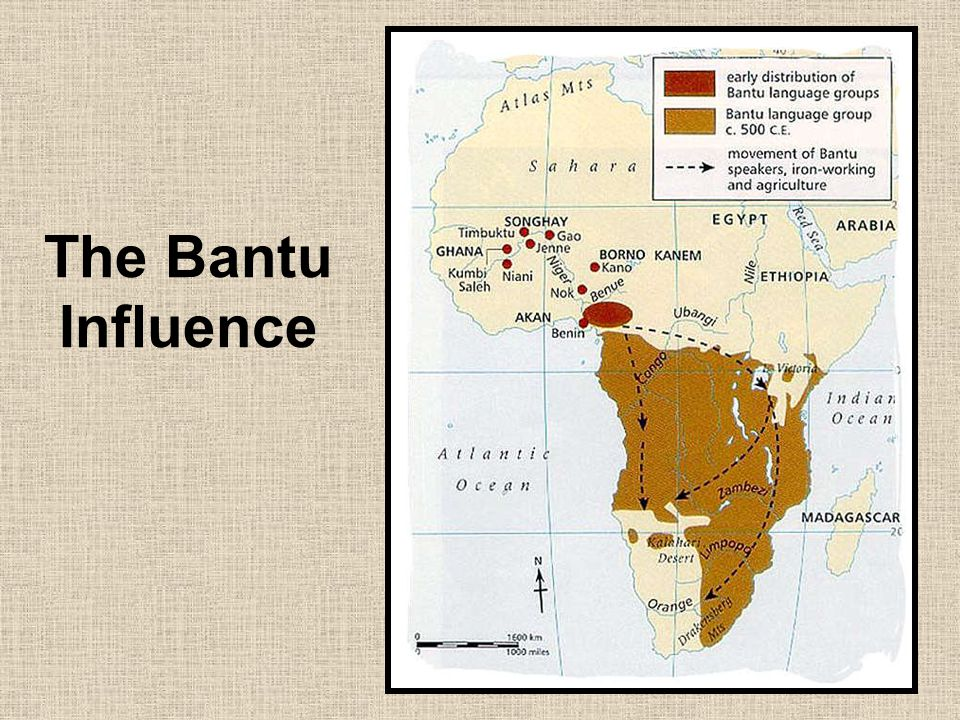 The Bantu Influence