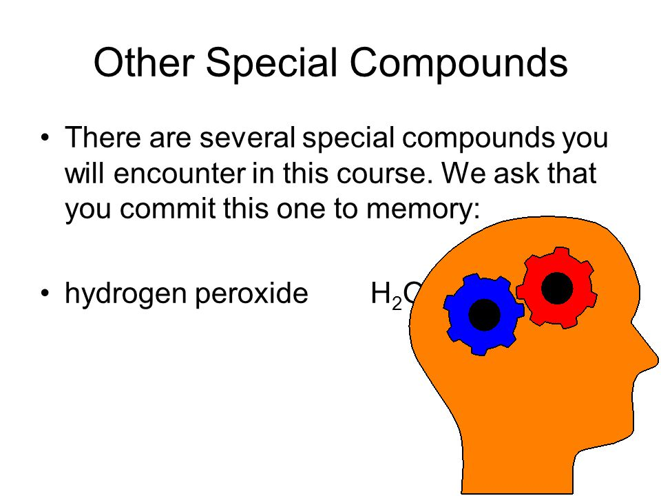 Other Special Compounds