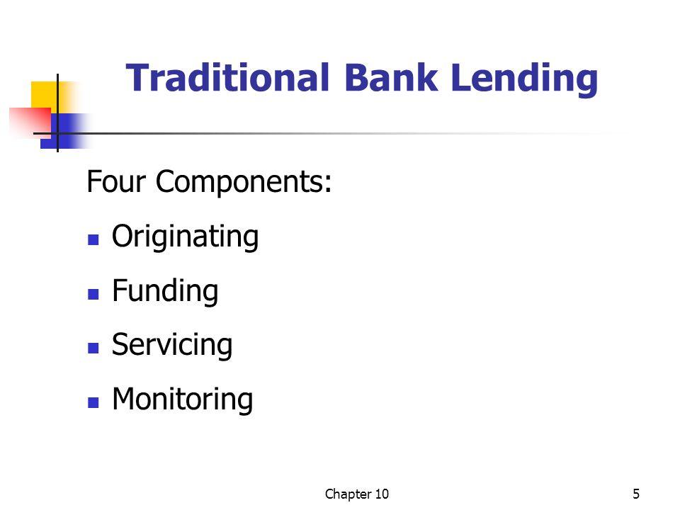 Traditional Bank Lending