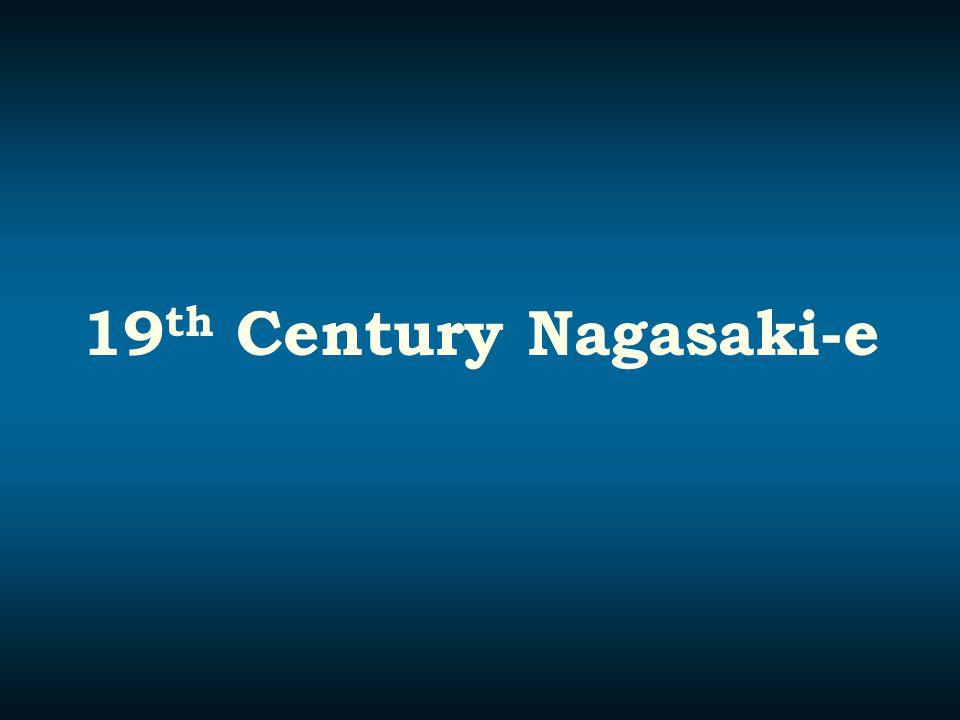 19th Century Nagasaki-e