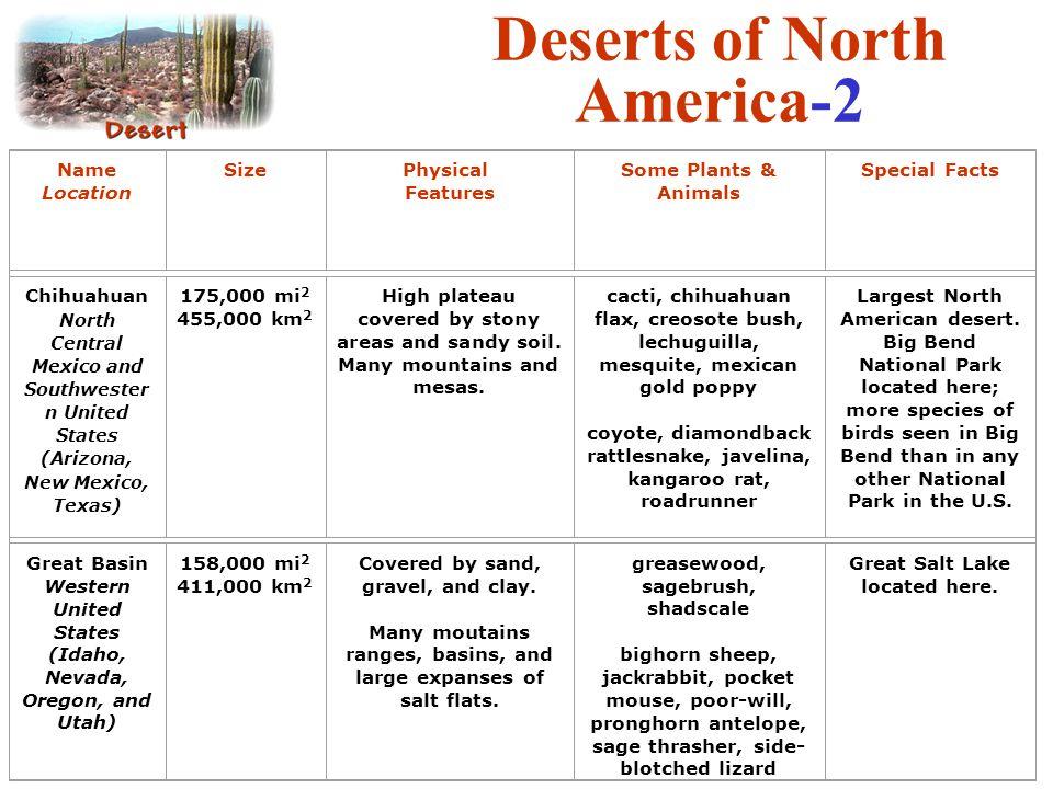 Deserts of North America-2
