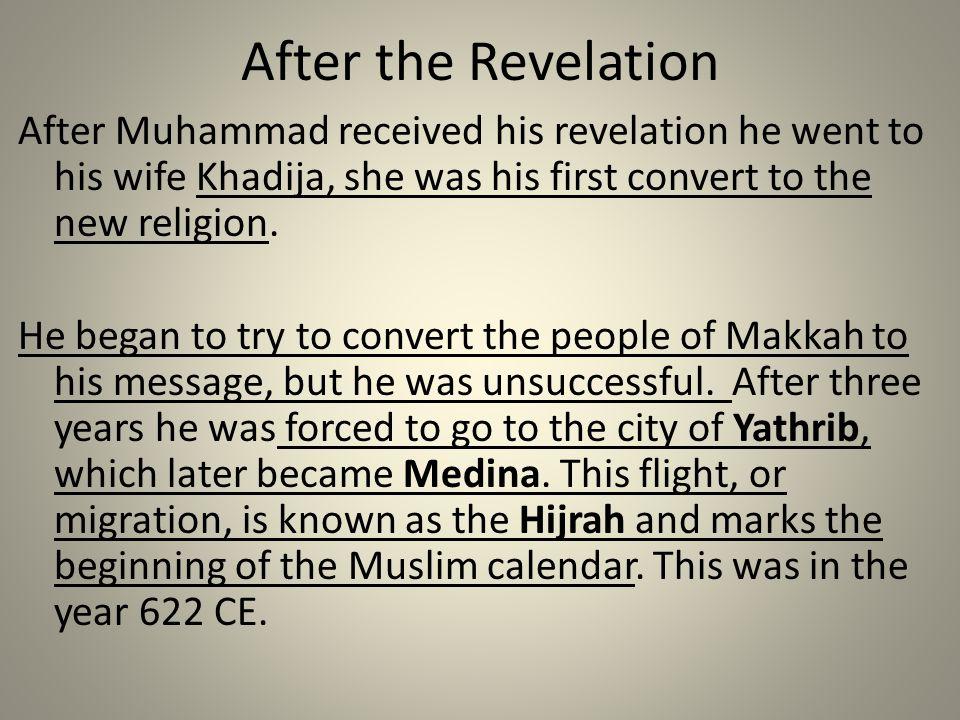 After the Revelation