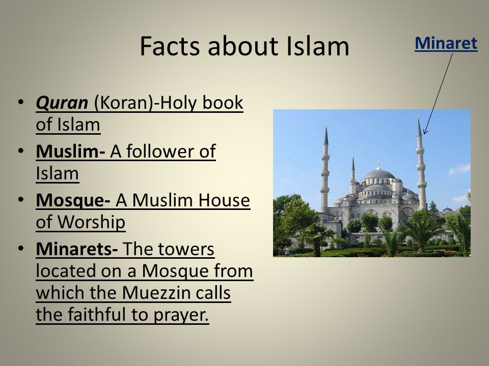 Facts about Islam Quran (Koran)-Holy book of Islam
