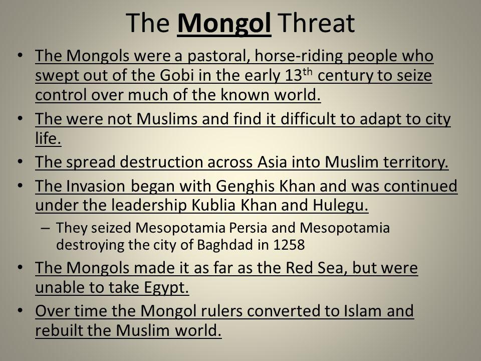 The Mongol Threat