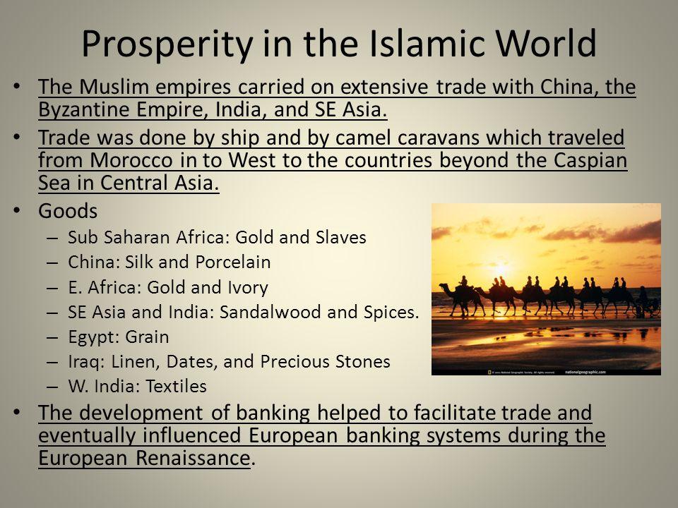 Prosperity in the Islamic World