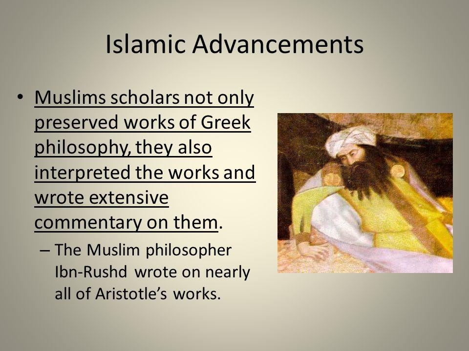 Islamic Advancements