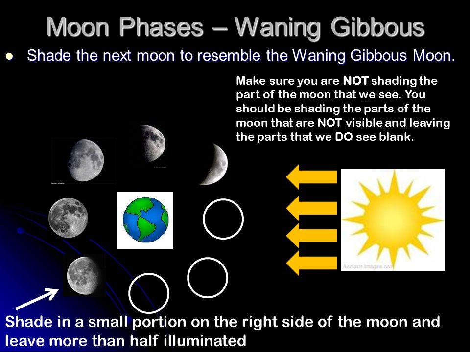 Moon Phases – Waning Gibbous