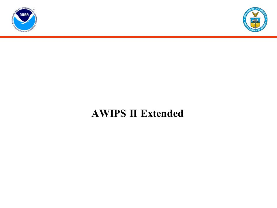 AWIPS II Extended