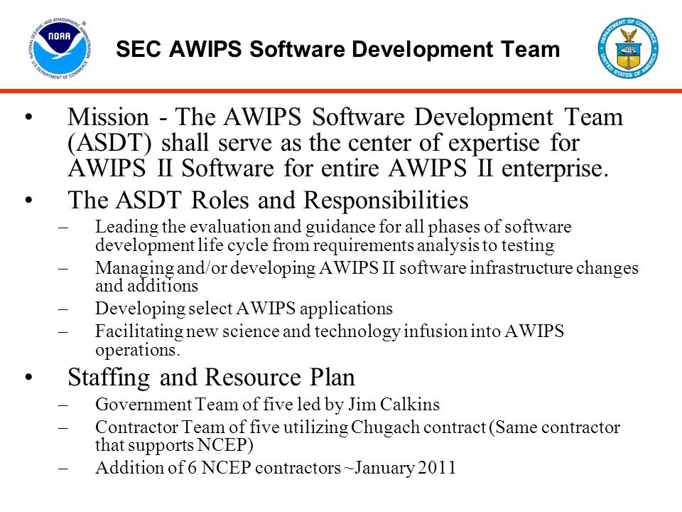 SEC AWIPS Software Development Team